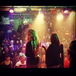 My view DJing @SNATCHONELA