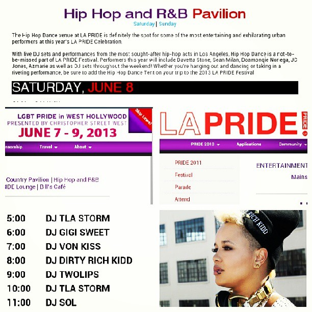 PRIDE! Saturday Hip-Hop Stage 8-9PM