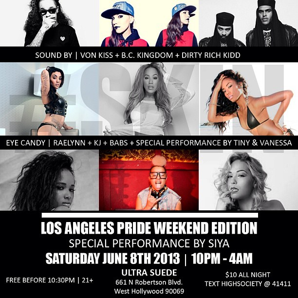 #SKIN 10PM-4AM @ Ultra Suede West Hollywood w/ B.C Kingdom + Von Kiss https://www.facebook.com/events/304816359653597/?fref=ts