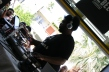 Questlove of the Roots dropping some house beats at The do-over Coachella party 2012