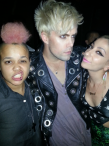 With Justin Tranter of Semi Precious Weapons